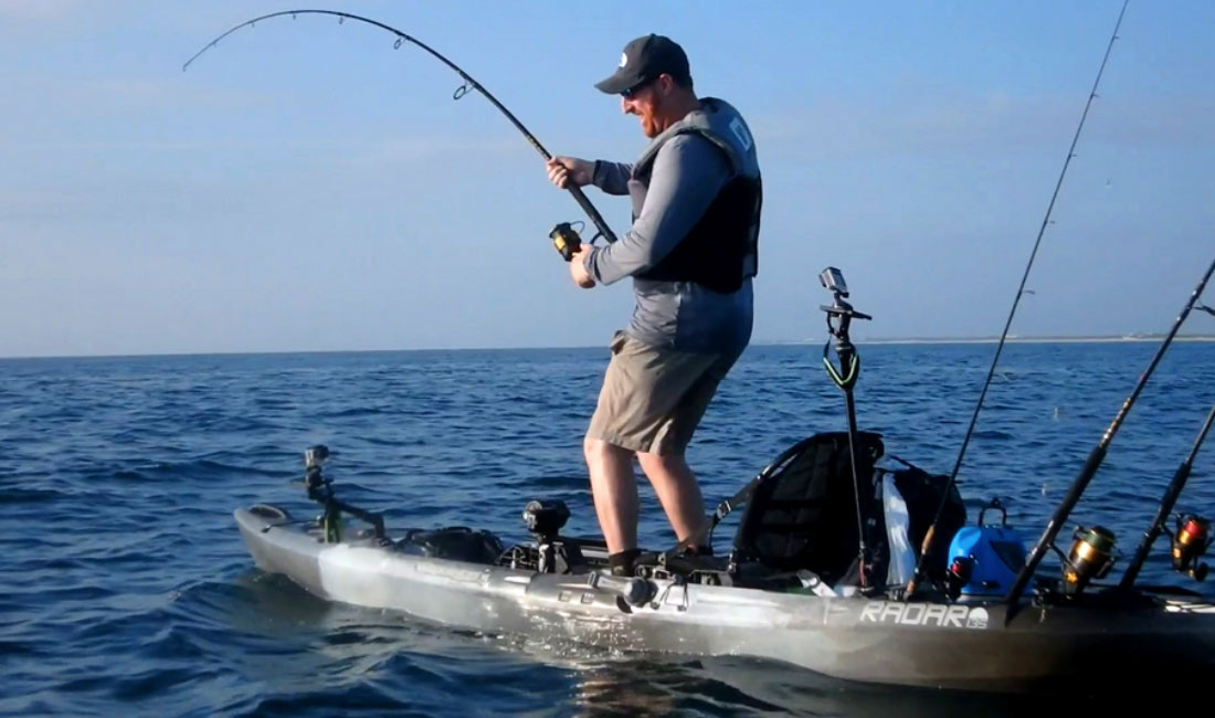 tarpon fishing by kayak