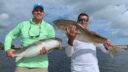 redfish doubling up